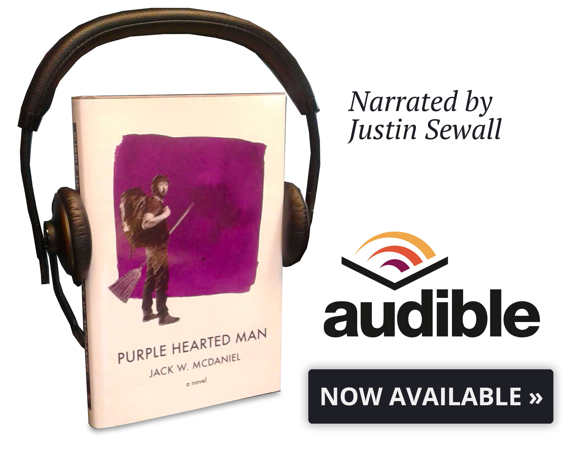 Audible version of Purple Hearted Man