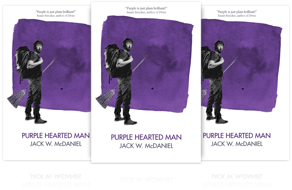 Novel - Purple Hearted Man